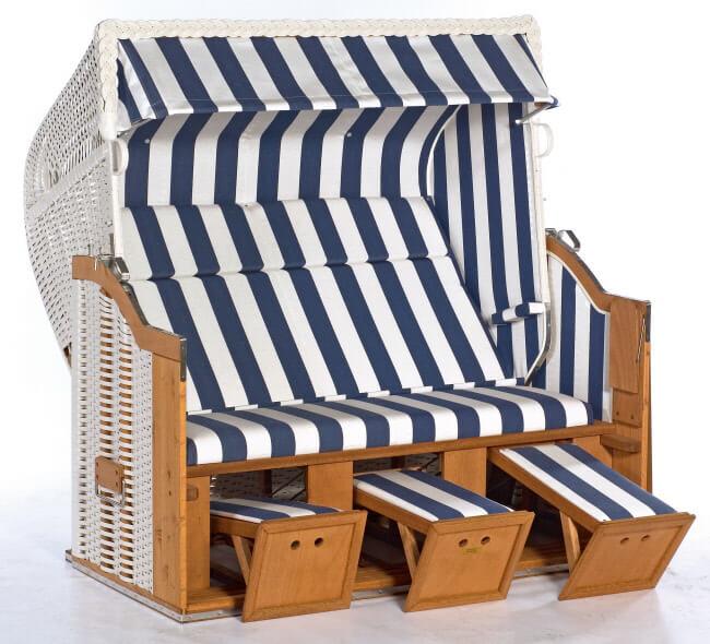 3 sitzer strandkorb. Black Bedroom Furniture Sets. Home Design Ideas