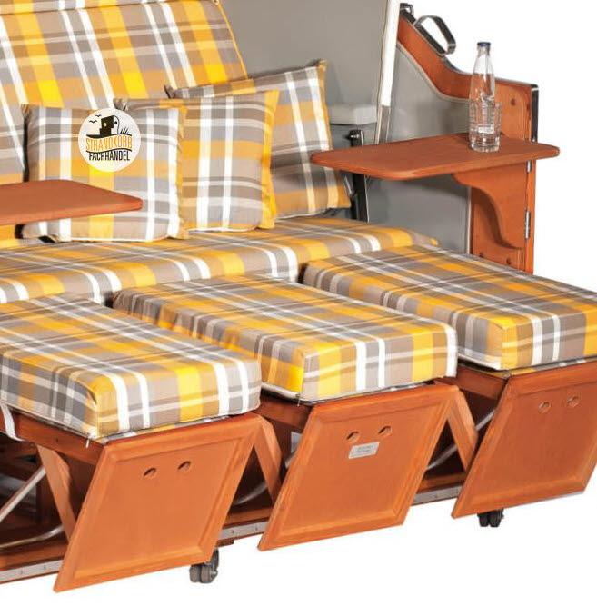 strandkorb classic wei stoff 20. Black Bedroom Furniture Sets. Home Design Ideas